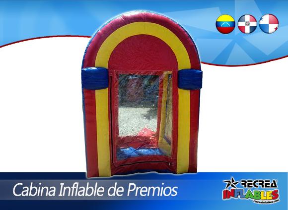 CABINA INFLABLE DE PREMIOS
